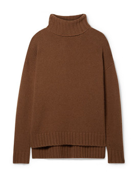 Brently Oversized Cashmere Turtleneck Sweater by Nili Lotan