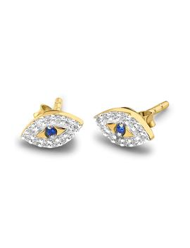 Evil Eye Stud Earrings by Missoma