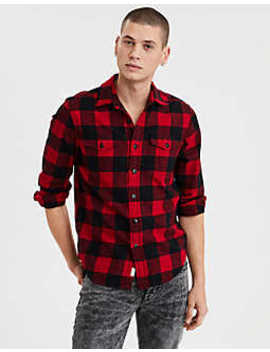 Ae Seriously Soft Flannel by American Eagle Outfitters