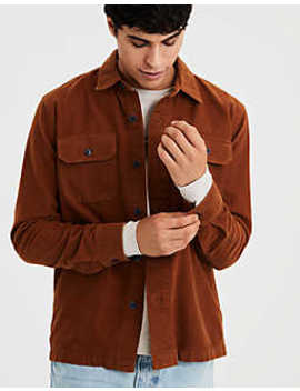 Ae Button Down Overshirt by American Eagle Outfitters