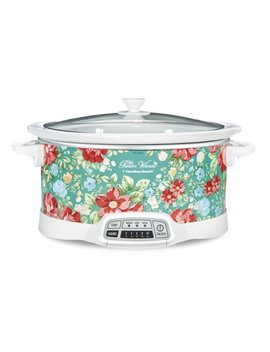 Pioneer Woman 7 Quart Programmable Slow Cooker Vintage Floral | Model# 33479 By Hamilton Beach by The Pioneer Woman