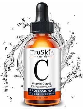 Truskin 天然维他命 C 精华适用于面部,有机抗衰老 Topical 面部精华与玻尿酸, 2 液盎司 by Tru Skin Naturals