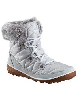 Women's Heavenly™ Shorty Camo Omni Heat™ Boot by Columbia Sportswear