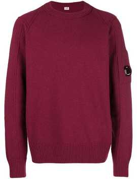 Crew Neck Sweater by Cp Company