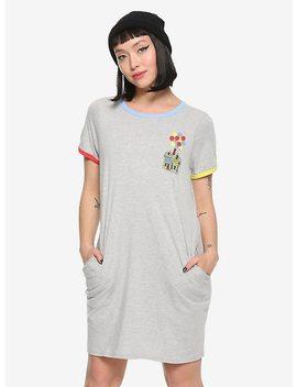 Disney Pixar Up Carl's House Ringer T Shirt Dress by Hot Topic