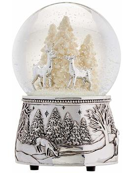 Reed & Barton North Pole Bound Christmas Snowglobe by Amazon