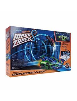 Lionel Mega Tracks   Corkscrew Chaos Green Engine by Lionel