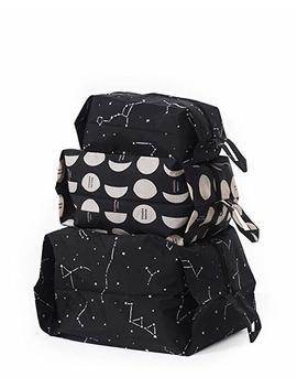 Baggu Women's 3 D Zip Bag Set by Baggu