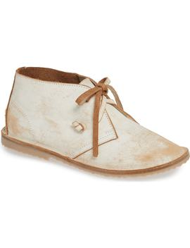 Warbler Deconstructed Genuine Shearling Chukka Bootie by Beek