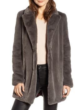 Faux Fur Coat by Sam Edelman