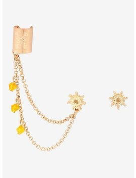 Disney Tangled Lantern Earrings With Cuff by Hot Topic