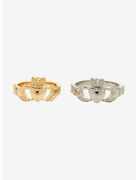Claddagh Ring Set by Hot Topic