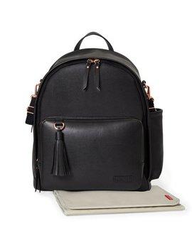 Skip Hop Greenwich Simply Chic Diaper Backpack, Black by Skip Hop
