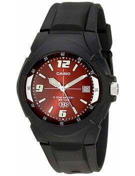 Casio Men's Mw600 F 4 Av Black Sport Watch by Casio