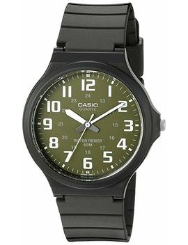 Casio Men's 'easy To Read' Quartz Black Casual Watch (Model: Mw240 3 Bv) by Casio