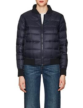Down Puffer Bomber Jacket by William Rast