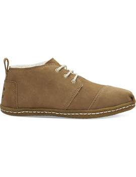 Toffee Suede Women's Bota Boots by Toms
