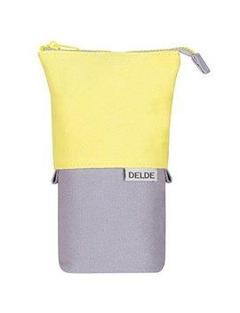 Sunstar Pen Case Delde Cool Light Yellow S1409603 by Sun Star Stationery