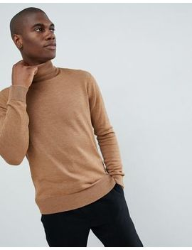 French Connection Plain 100 Percents Cotton Roll Neck Sweater by French Connection