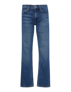 Cropped Mid Rise Flared Jeans by Re/Done
