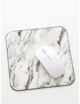 Marble Pattern Mouse Pad by Romwe