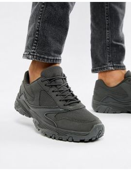 Asos Design Sneakers In Block Gray Chunky Sole by Asos Design