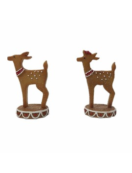 Assorted Tabletop Gingerbread Baby Deer By Ashland® by Ashland
