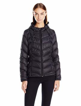 Tommy Hilfiger Women's Short Packable Down Coat With Hood by Amazon