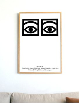 Olle Eksell *Offset Lithograph* Mid Century Modern Poster Print Cocoa Eyes Danish Scandinavian + Free Shipping Anywhere by Etsy