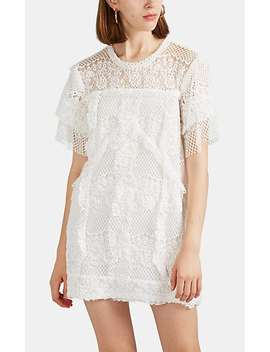 Pike Cotton Blend Lace Shift Dress by Iro