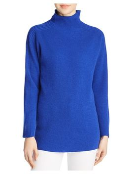 Cashmere Funnel Neck Sweater by Eileen Fisher