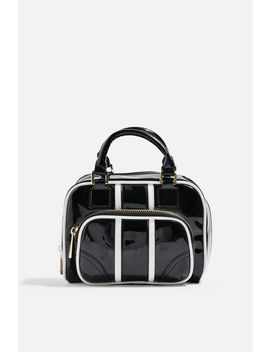 Brooke Patent Bowler Bag by Topshop