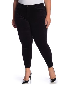 High Rise Velvet Pant (Plus Size) by Democracy