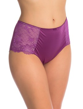 H Igh Waist Seduction Boyshort Panties by Curvy Couture