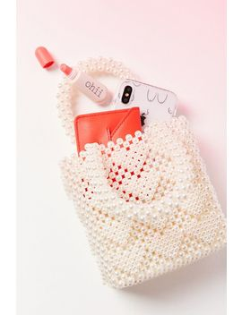 Winnie Beaded Mini Tote Bag by Urban Outfitters