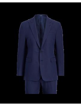 Connery Cotton Blend Suit by Ralph Lauren