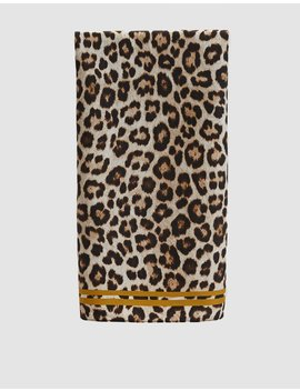 Silk Leopard Scarf by Just Female