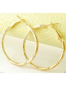 Hot New 9k Gold Filled Fashion Stylish Lady Ear Stud Hoop Earring 475 By Khime by Khime