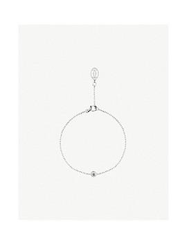 Diamants Légers De Cartier 18ct White Gold And Diamond Bracelet by Cartier