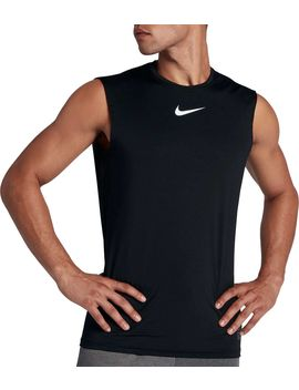Nike Pro Men's Fitted Sleeveless Shirt by Nike