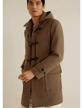 Detachable Hood Duffle Coat by Mango