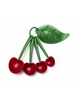 Mon Cherry Measuring Spoons And Egg Separator By Ototo by Ototo