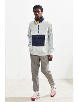 Nike Half Zip Colorblock Fleece Sweatshirt by Nike