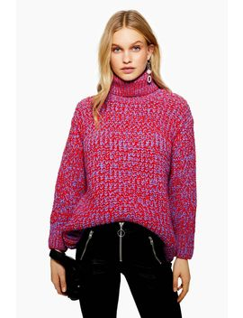 Twist Chunky Roll Neck Jumper by Topshop