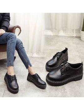 Barca   Lace Up Platform Shoes by Barca