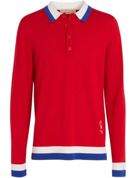 Knitted Polo Shirt by Burberry