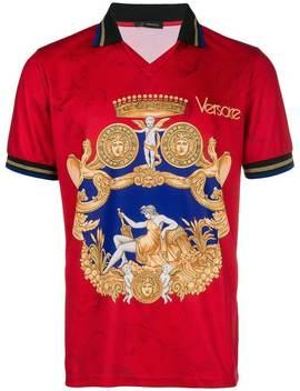 Blasone Barocco Polo Shirt by Versace