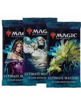 3 (Three) Booster Packs Of Magic: The Gathering: Ultimate Masters (3 Pack   Uma Booster Draft Lot) by Mtg
