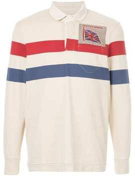 Striped Polo Shirt by Kent & Curwen