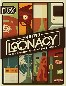 Retro Loonacy Card Game by Looney Labs